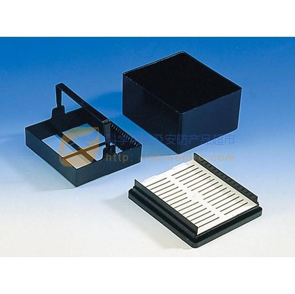 普兰德/brand 托盘,pom材质,91x79x38 mm,可以放置25张载玻片, 5个/盒